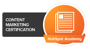 logo content marketing certification