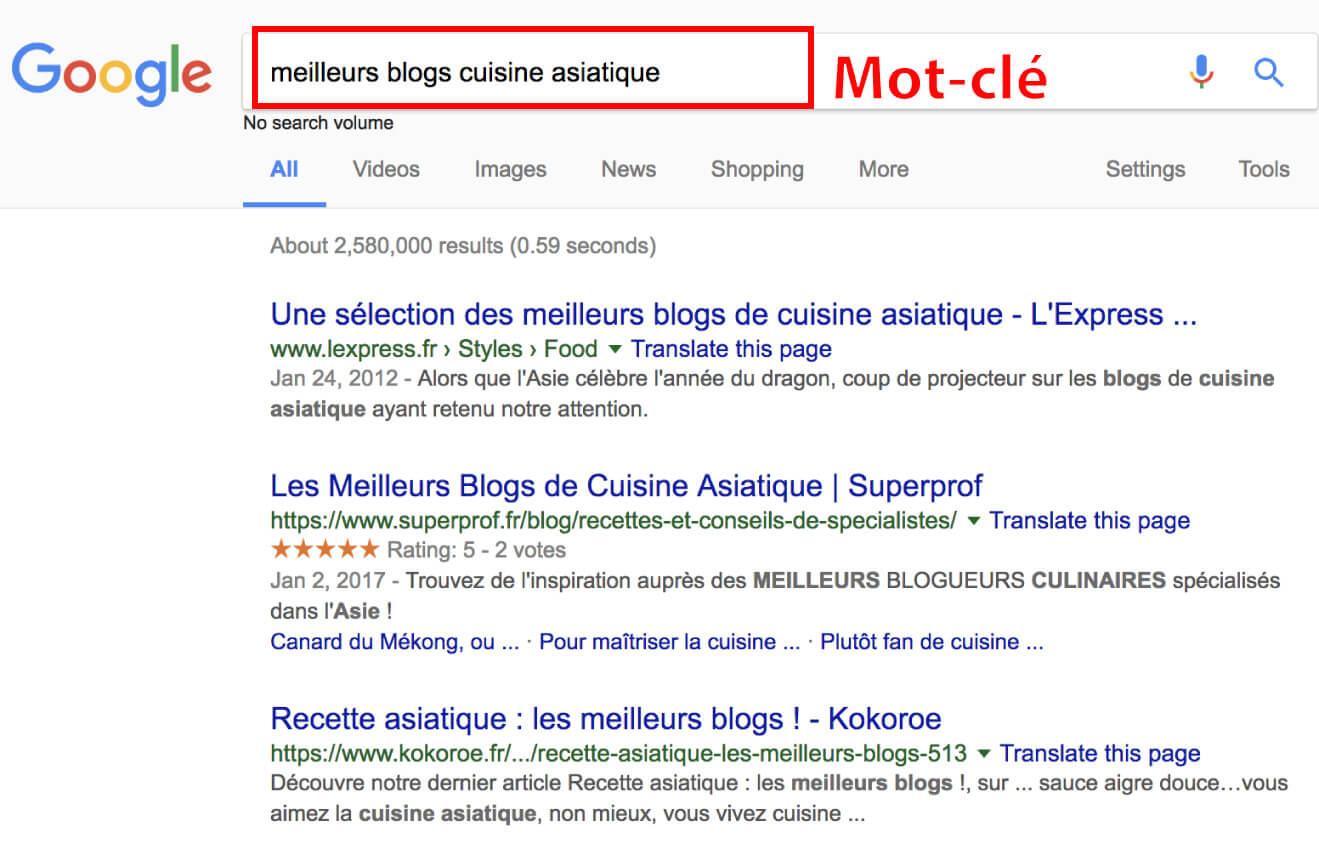 Meilleurs blog Google