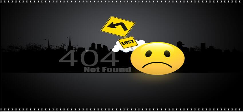 Lien 404