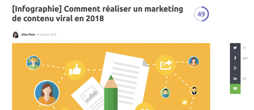 marketing de contenu viral