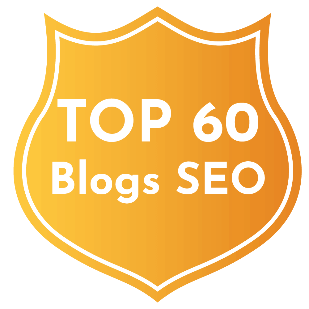 top blog SEO badge