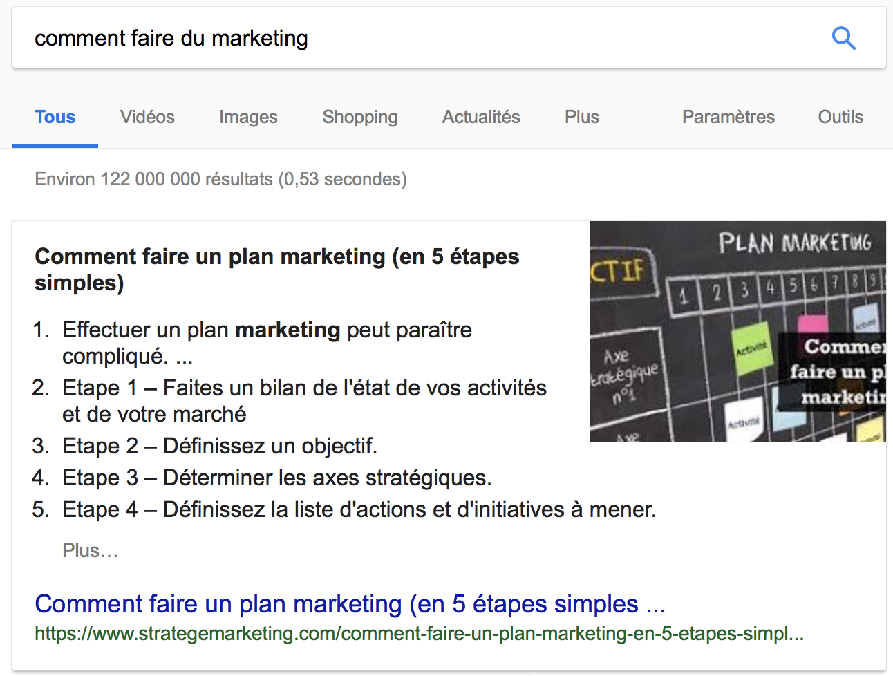 comment faire du marketing