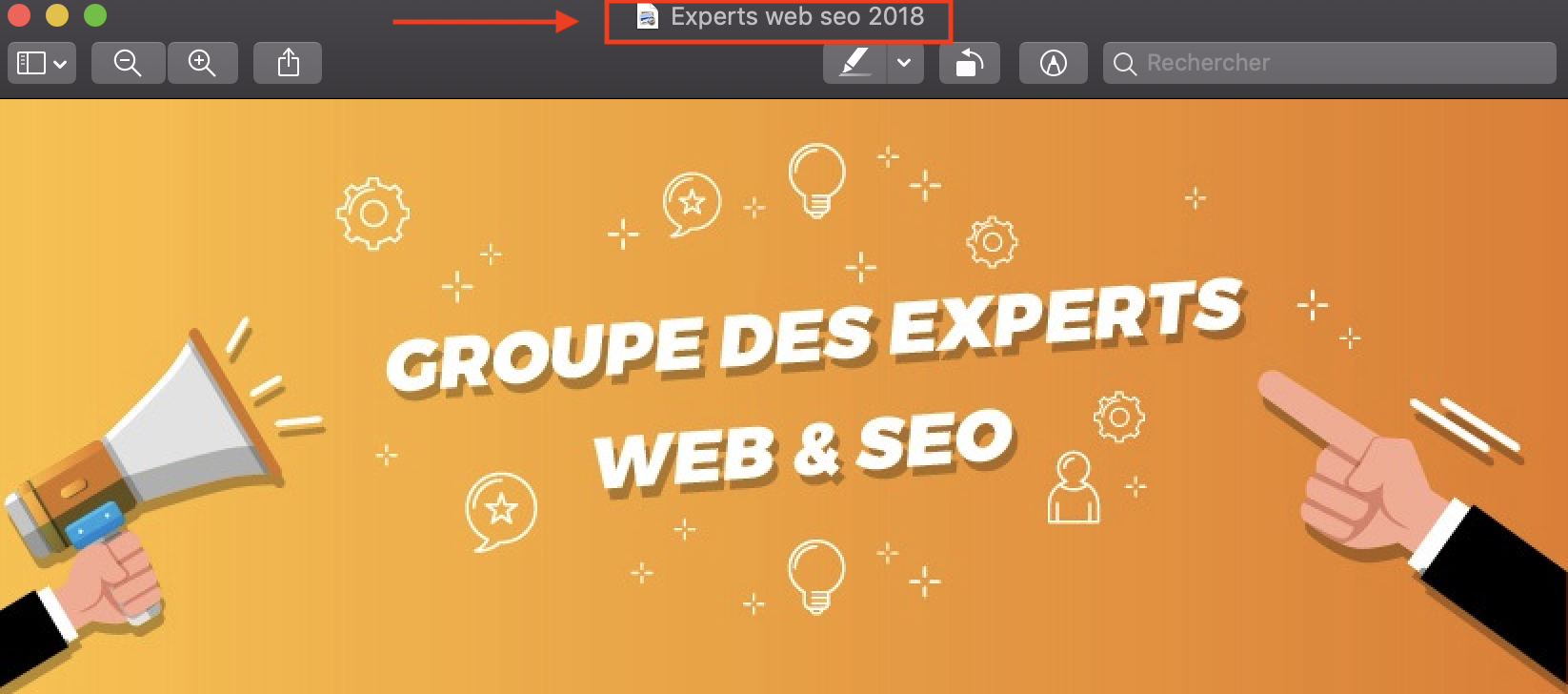experts web et seo